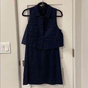 Theory Navy dress
